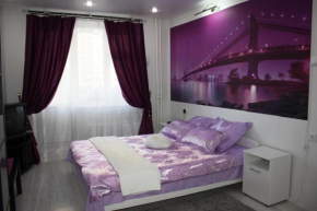 Apartment Purple Manhattan, Zheleznodorozhny, Zheleznodorozhny
