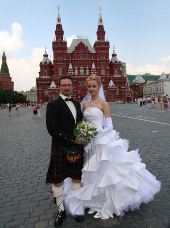 Marriage in Moscow